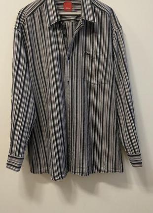 Мужская рубашка s.oliver p.xxl #1610 новое поступление 1+1=3🎁