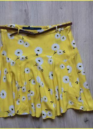 Яркая юбка с ремешком next