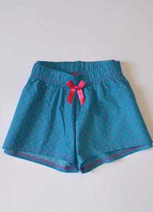 Милые шортики в горошек пижама шорты