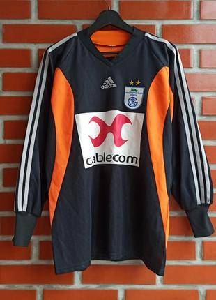 Adidas grasshopper-club borer вратарская футболка кофта размер м - l