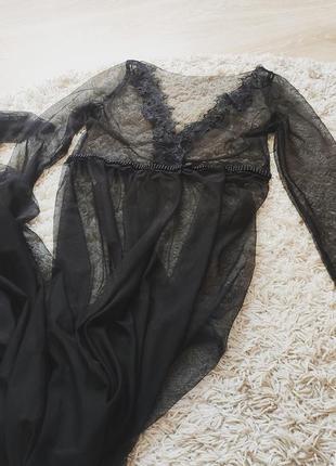 Будуарное платье для фотосессии