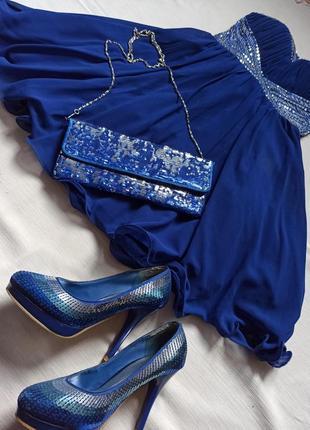 Нарядное вечернее платье new look
