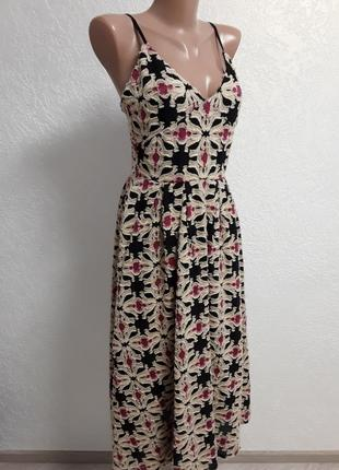 Шикарный утепленный  сарафан  - платье ( 13 % шелк, 10% шерсть).