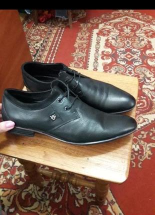 Туфли кожаные фирменные