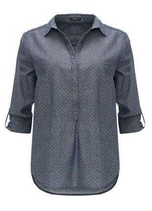 Свободная хлопковая блуза от opus! p.-42