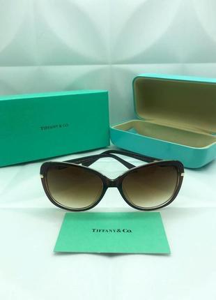 Женские солнцезащитные очки в стиле tiffany&co