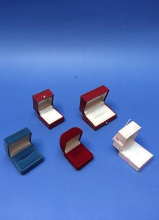 Набор коробочек квадратных для подарка кольца украшения