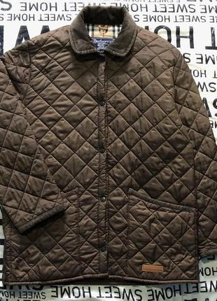 Стеганая куртка burberrys оригинал burberry х barbour стеганка