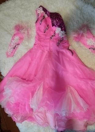Бальное платье латино-американские танцы