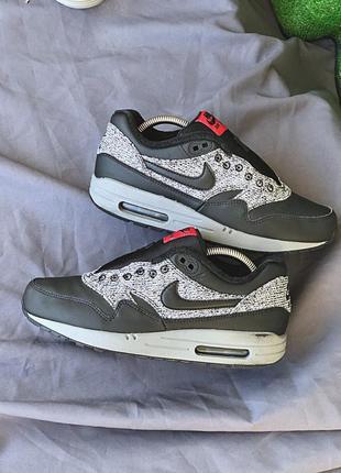 Nike air max 87 90 кроссовки оригинал кожаные