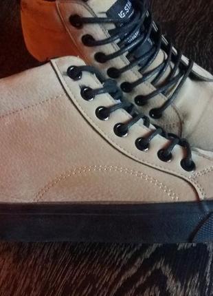 Женские ботинки кеды весна-осень