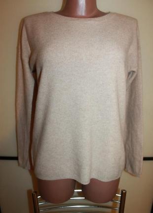 Идеальный кашемировый свитер джемпер esmara premium collection s m