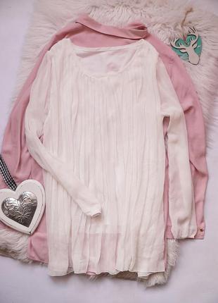 Милая блуза -туника размер m-l