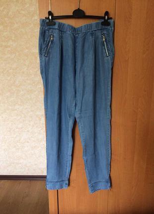 Легкие летние штаны под джинс reserved