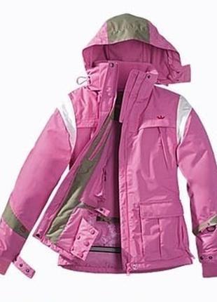 Фирменная горнолыжная, мембранная, термо куртка розовая tcm tchibo