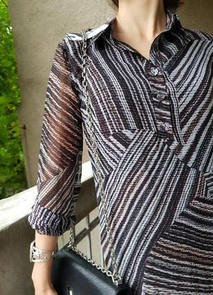 Стильное платье вискоза + шелк