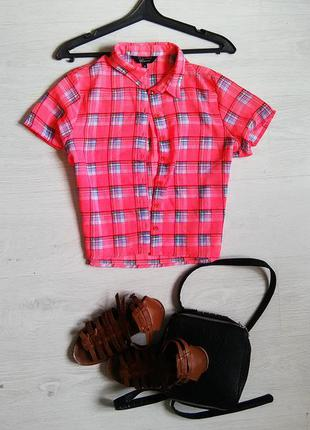 Укороченная рубашка от new look