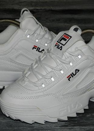 Fila disruptor ! оригинальные, стильные невероятно крутые кроссовки
