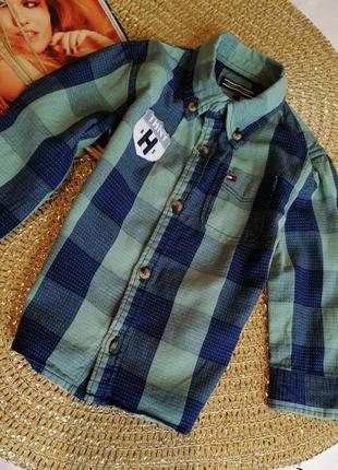Стиляжна рубашка tommy hilfiger