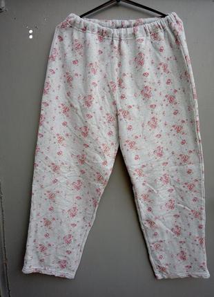 🎅-21% до 21.01.21!!! штаны домашние теплые р.xl