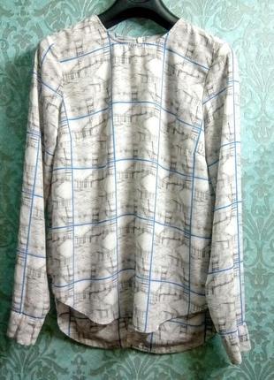 Шифоновая кофта блуза asos