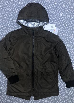 Зимняя куртка name it девочке тинсулейт 128-134 см 8 лет