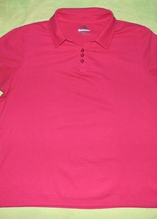 Спортивная женская футболка поло-rodeo-xl