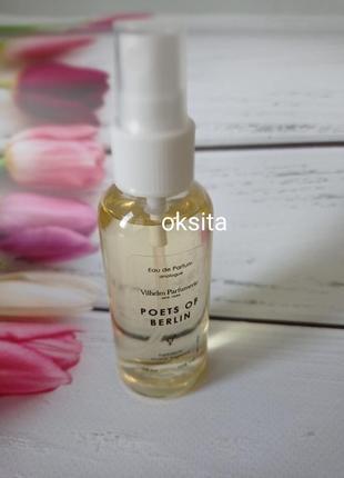 Мини парфюм духи (30%масел)68мл эконом вариант для сумочки poets of berlin