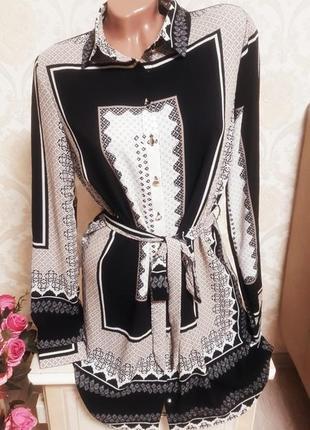 Очень стильное и красивое платье рубашка