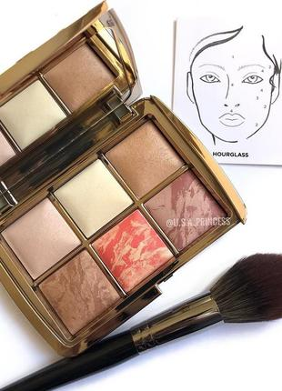 Палетка hourglass ambient lighting face palette - sculpture ⠀