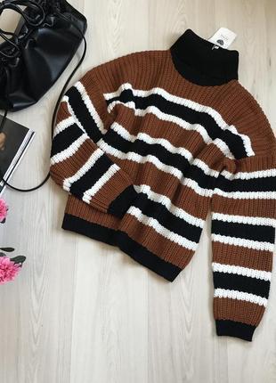 Новый вязаный свитер jennyfer размер l