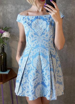 Шикарное принцесное платье topshop