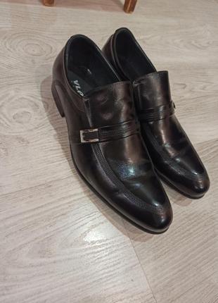Туфли, чоловічі шкіряні туфлі 42 розмір