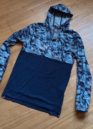 Under armour wind anorak ветровка мужская для бег спорта