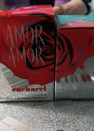 Cacharel amor amor оригинал, распив, затест, отливант