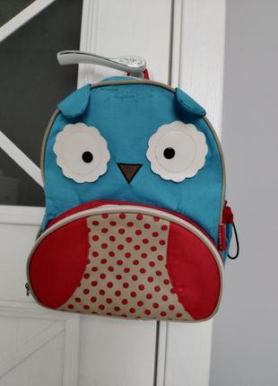 Рюкзачок сова детский рюкзак портфель