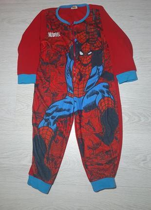 Флисова слип пижама  marvel
