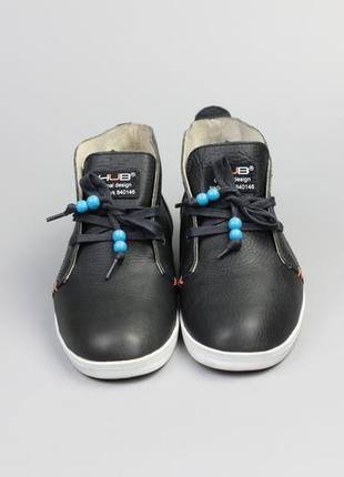 Фирменные кеды ботинки в стиле clarks ecco geox