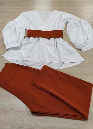 Шикарний нарядный костюм8 фото