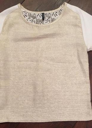 Блуза футболка блузка naf naf кофта майка