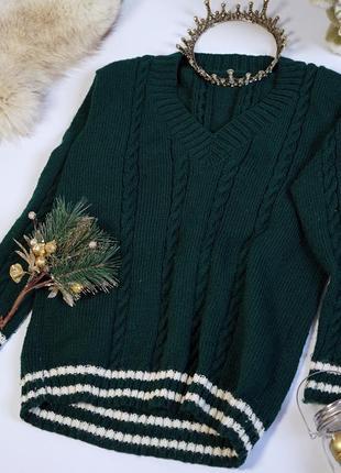 Вязаный свитер, джемпер вязаный,пуловер