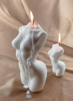 Свеча nude candle свеча женское тело купить украина