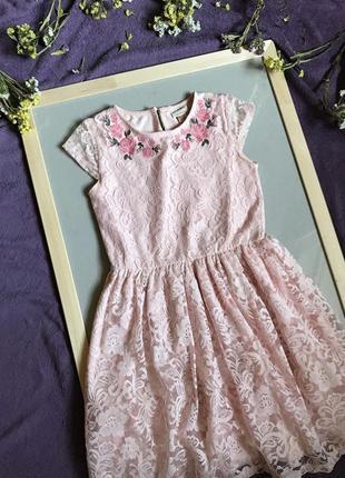 Нарядное кружевное платье lc waikiki