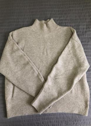 Базовый свитер h&m