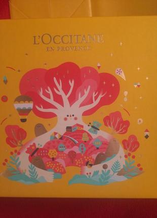 Коробка l'occitane