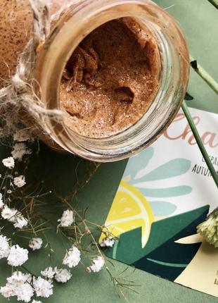 Натуральный скраб-жвачка для тела