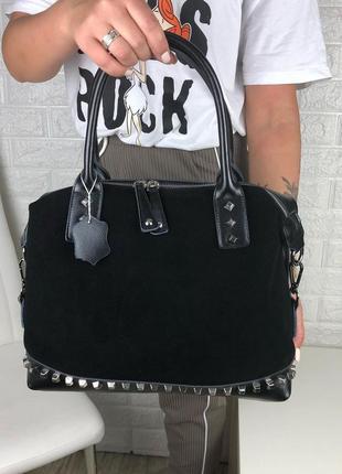 Крутая замшевая сумочка 🔥🔥🔥