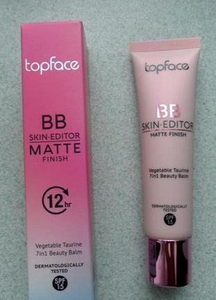 Тональный крем topface bb skin-editor matte finish