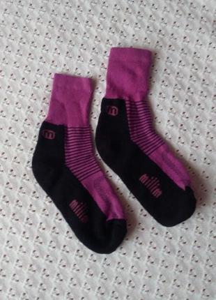 Термошкарпетки з мериносової шерсті 31-35 термоноски шерстяные носочки термо тёплые зимние