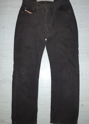 Вельветы diesel штаны made in italy